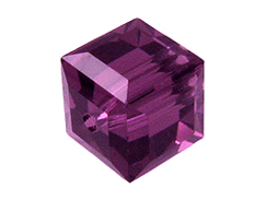 February Swarovksi Crystal  Cube or Square
