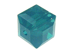 Teal Swarovksi Crystal Cube or Square