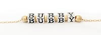 Gold Bubby Necklace with Spacers 4.5mm