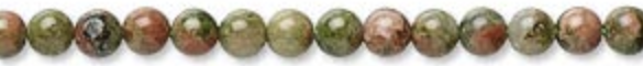 Unakite is said to cleanse and balance our bodies and used as a aid.