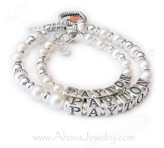 Love & Peace written in Hebrew Jewelry