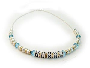 Bubbe Necklace - Jewish Grandma Necklace Gift Ideas